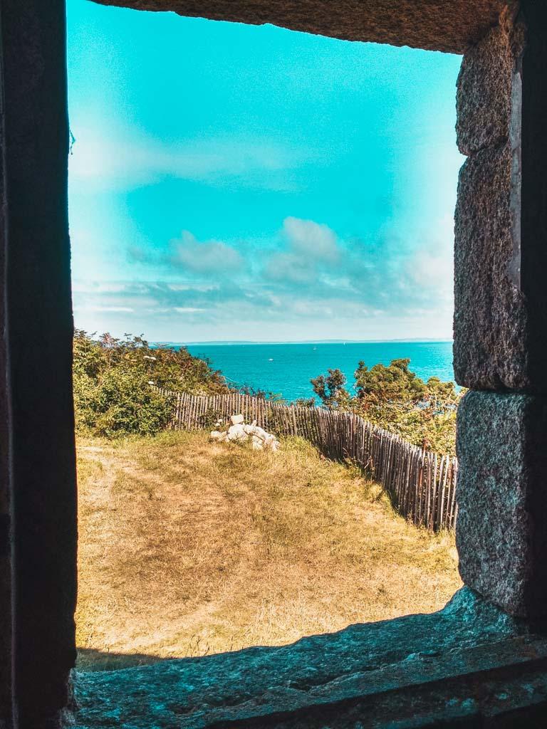 Sur l'île Tristan