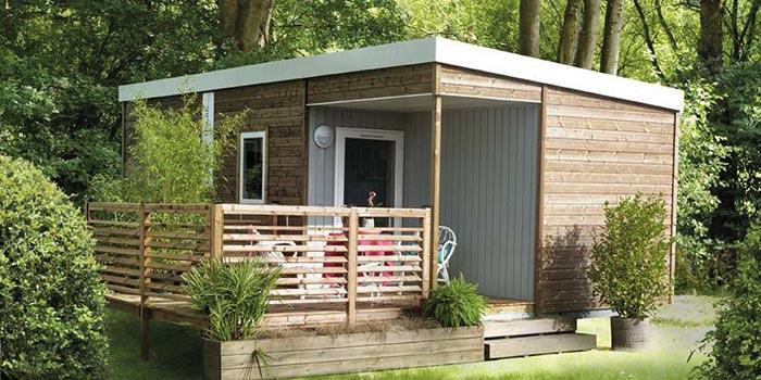 Mobil-Home avec terrasse intégrée