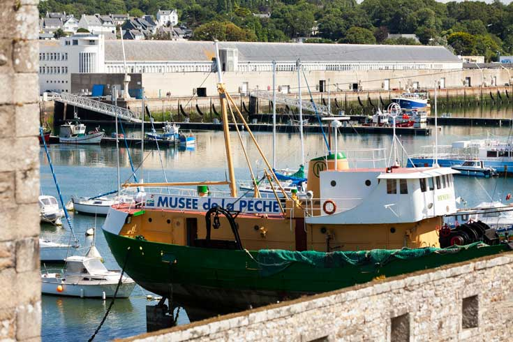 Le musée de la pêche à Concarneau